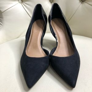 Asos Black Suede Pointed Toe Shoes